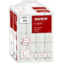 Handdoek Katrin Zig-Zag 45570 2laags 23x23cm 20x200st