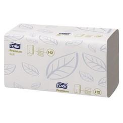 Handdoek Tork H2 100289 Premium 2laags 21x26cm 21x150st