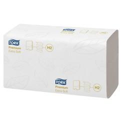 Handdoek Tork H2 100297 Premium 2laags 21x34cm 21x100st