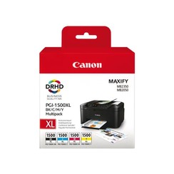 Inktcartridge Canon PGI-1500XL zwart + kleur HC