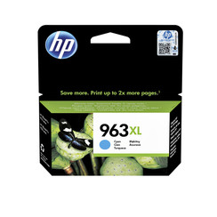 Inktcartridge HP 3JA27AE 963XL blauw HC
