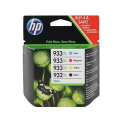 Inktcartridge HP C2P42AE 932XL/933XL zwart + 3 kleuren HC