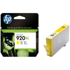 Inktcartridge HP CD974AE 920XL geel HC