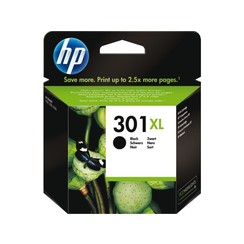 Inktcartridge HP CH563EE 301XL zwart HC