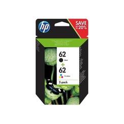 Inktcartridge HP N9J71AE 62  zwart + kleur