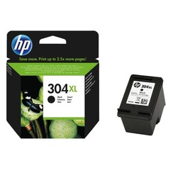 Inktcartridge HP N9K08AE 304XL zwart