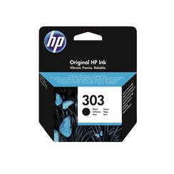 Inktcartridge HP T6N02AE 303 zwart