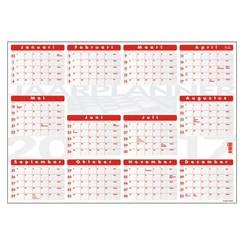 Jaarplankalender 2022 Quantore 48x68cm