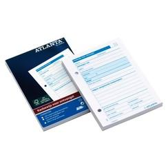 Kasbewijs Atlanta ontvangst A6 100vel