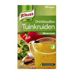 Knorr drinkbouillon tuinkruiden 80 zakjes