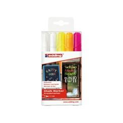 Krijtstift edding 4095 rond assorti 2-3mm etui à 5st