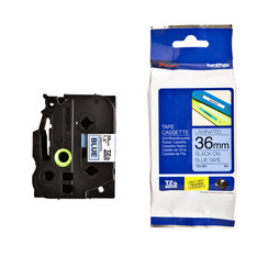 Labeltape Brother P-touch TZE-561 36mm zwart op blauw