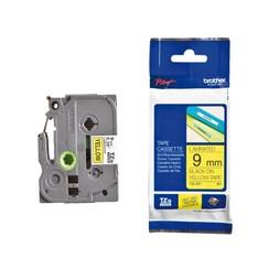 Labeltape Brother P-touch TZE-621 9mm zwart op geel