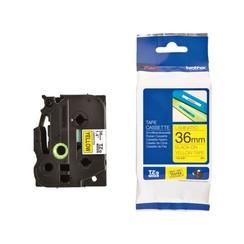 Labeltape Brother P-touch TZE-661 36mm zwart op geel