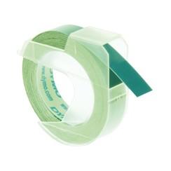 Labeltape Dymo rol 9mmx3M glossy vinyl prof groen