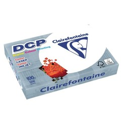 Laserpapier Clairefontaine DCP A4 100gr wit 500vel