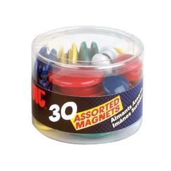 Magneet Oic kleuren en maten assorti