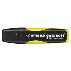 Markeerstift STABILO Green Boss 6070/24 geel
