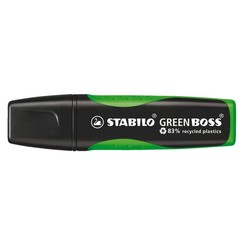 Markeerstift STABILO Green Boss 6070/33 groen