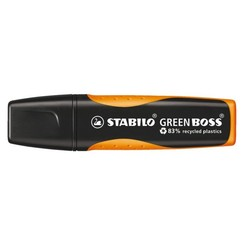Markeerstift STABILO Green Boss 6070/54 oranje