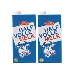 Melk Landhof halfvol houdbaar 1 liter