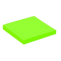 Memoblok Quantore 76x76mm neon groen