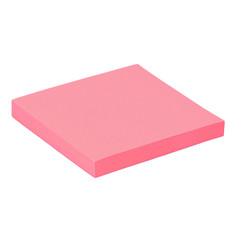 Memoblok Quantore 76x76mm neon roze