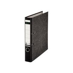 Ordner Leitz A4 50mm karton gewolkt zwart