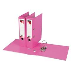 Ordner Quantore A4 80mm PP roze