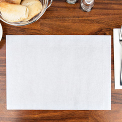 Placemats Tork 474401 LinStyle 39x30cm wit 100st.