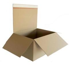 Postpakketbox Budget 1 146x131x56mm bruin