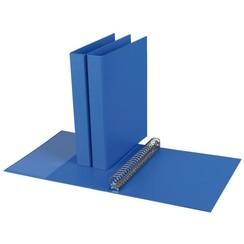 Ringband Quantore A4 23-rings D-mech 27mm PP blauw