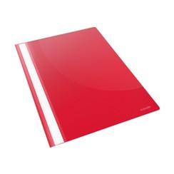 Snelhechter Esselte Vivida A4 PP rood