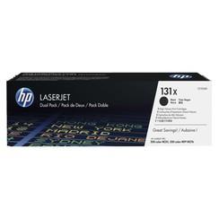 Tonercartridge HP CF210XD 131X zwart 2x HC