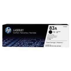 Tonercartridge HP CF283AD 83A zwart 2x