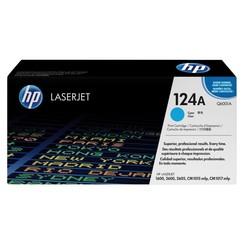 Tonercartridge HP Q6001A 124A blauw