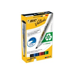Viltstift Bic 1751 whiteboard schuin ass 3.7-5.5mm set à 4st