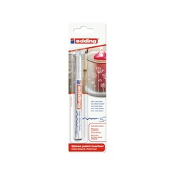Viltstift edding 751 lakmarker rond wit 1-2mm blister
