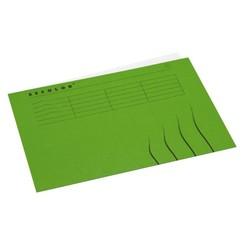 Vouwmap Jalema Secolor A4 gelijk groen