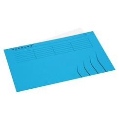 Vouwmap Jalema Secolor Folio gelijk blauw