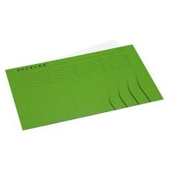 Vouwmap Jalema Secolor Folio gelijk groen