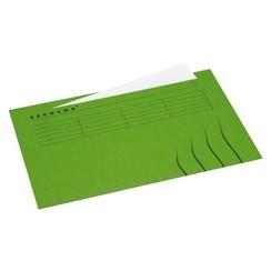 Vouwmap Jalema Secolor Folio ongelijk groen