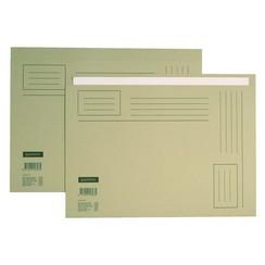 Vouwmap Quantore Folio ongelijke zijde 230gr grijs