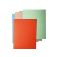 Vouwmap Quantore ICN1 folio 240x360 oranje