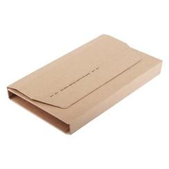 Wikkelverpakking CleverPack A4 +zelfkl strip bruin 10stuks