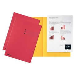 Inlegmap Esselte 180gr karton rood