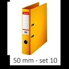 Esselte Ordner Basic 50 mm geel