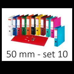 Esselte Ordner Basic 50 mm assorti 10 kleuren