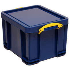 Opbergbox Really Useful 64 liter 710x440x310mm blauw