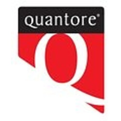 Quantore Ordner Quantore A4 80mm PP zwart - 110068